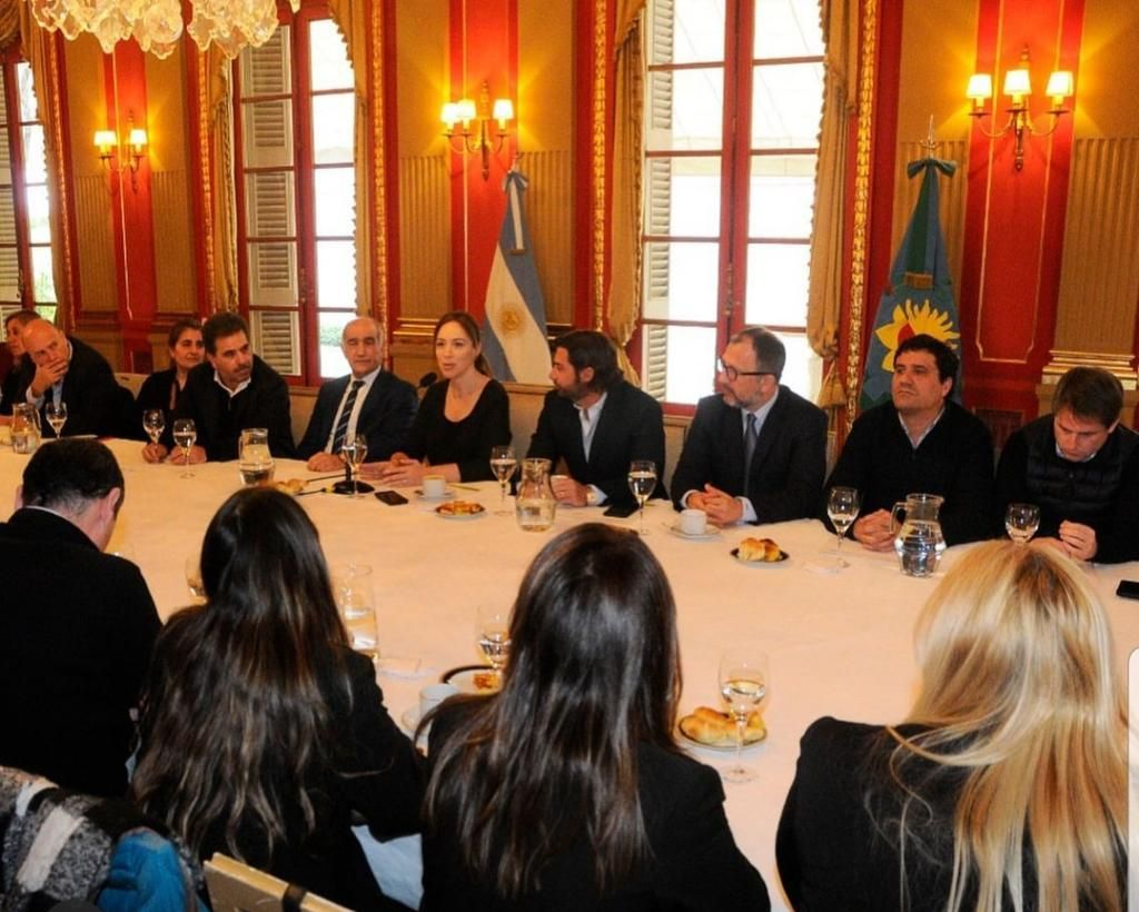 Vidal reunió a sus legisladores: reproches, autocrítica parcial y ausencias comentadas