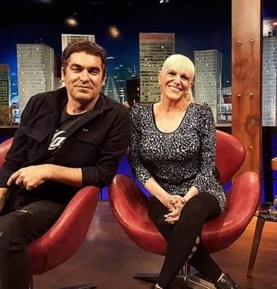 ¿Valeria Lynch sale con el cantante de Ataque 77, Mariano Martínez?