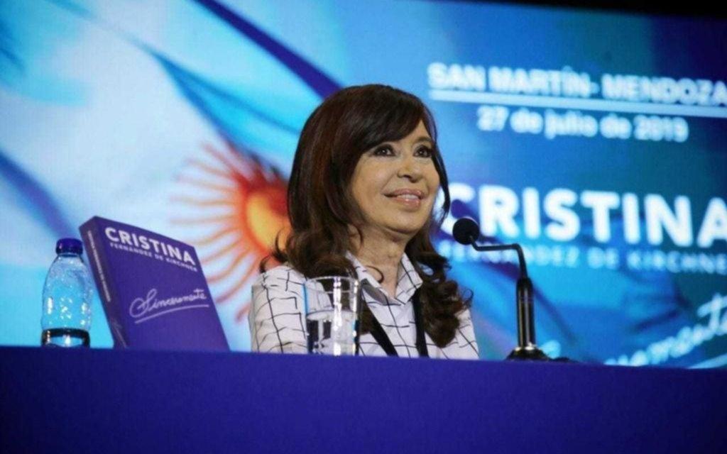 """Cristina Kirchner viene a La Plata a presentar su libro """"Sinceramente"""""""