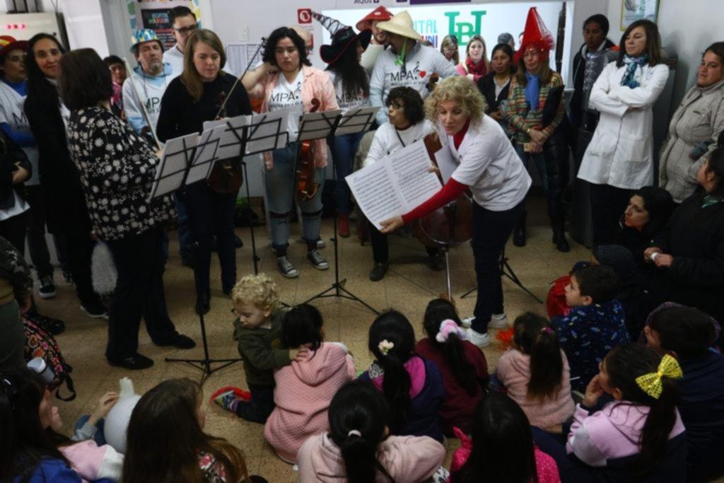 Música para el alma y un emotivo concierto en el Hospital Bollini