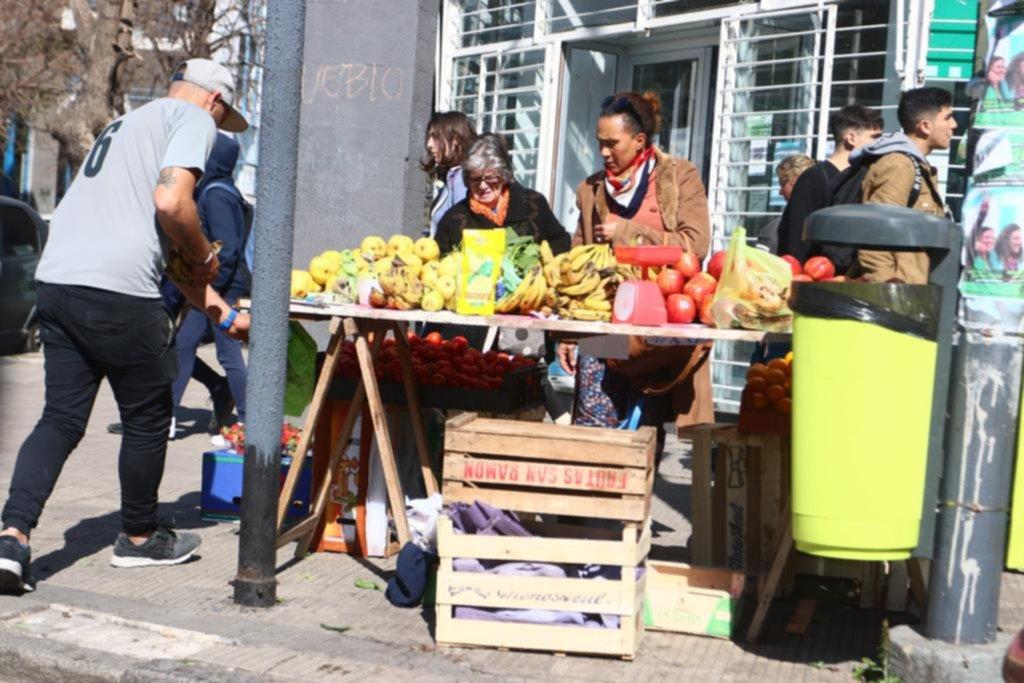 La venta callejera, a sus anchas