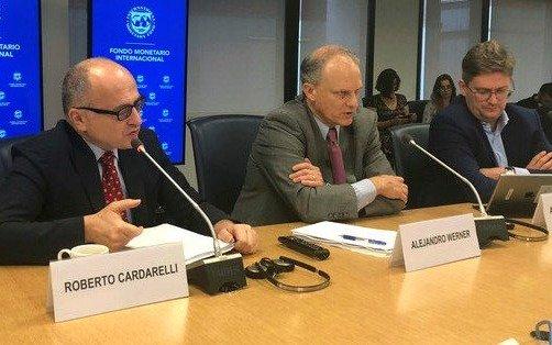 Tras reunión con Lacunza y Sandleris, el FMI prevé encuentros con Nielsen y Todesca