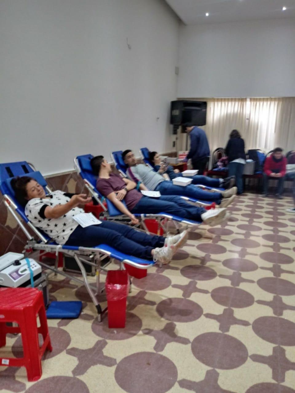 Campaña de donación de sangre del Rotary La Plata Norte