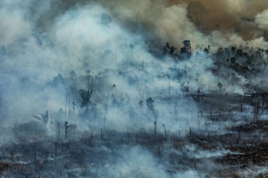 El humo de los incendios en el Amazonas podría llegar a la Región