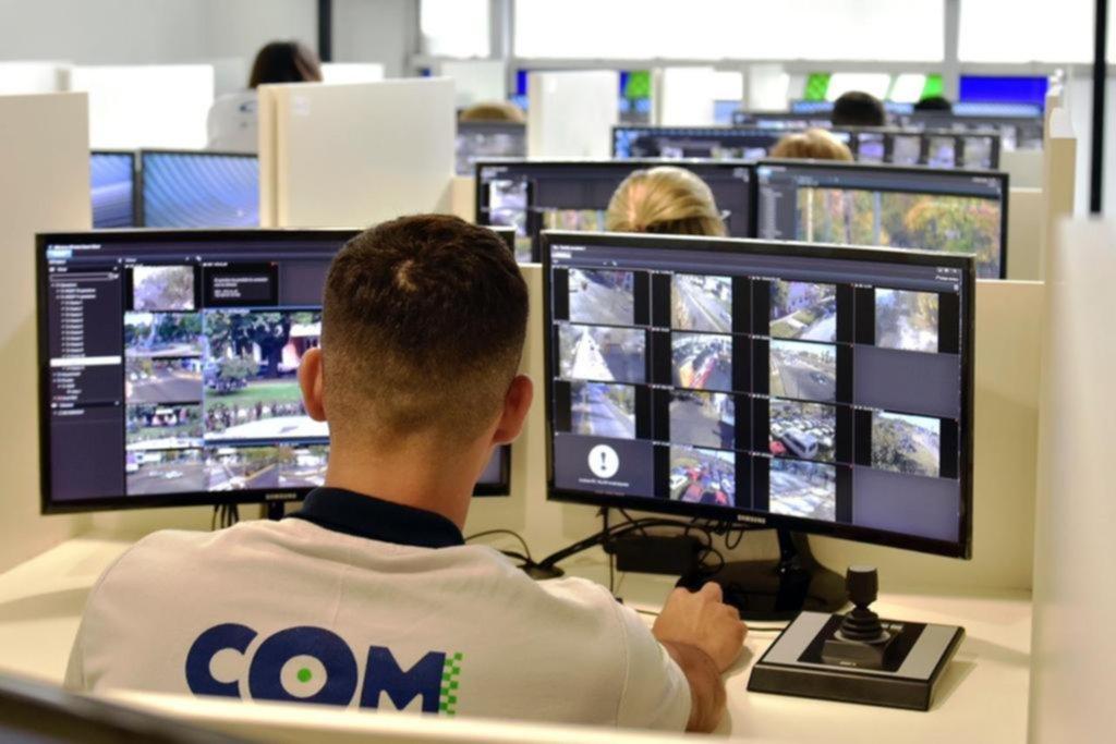 Se conectó la primera cámara de seguridad privada a la red de monitoreo municipal