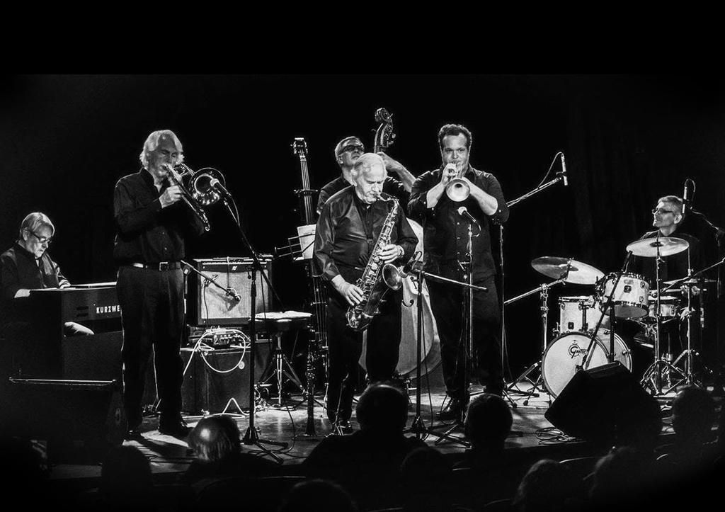 El Sexteto de Jazz La Plata llega al Teatro de Cámara