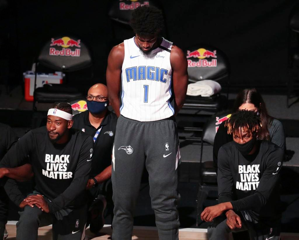 La segunda jornada de la NBA llegó con polémica en Orlando