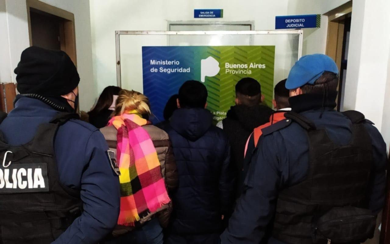 Zona Roja: detuvieron a siete personas durante la madrugada por venta de droga
