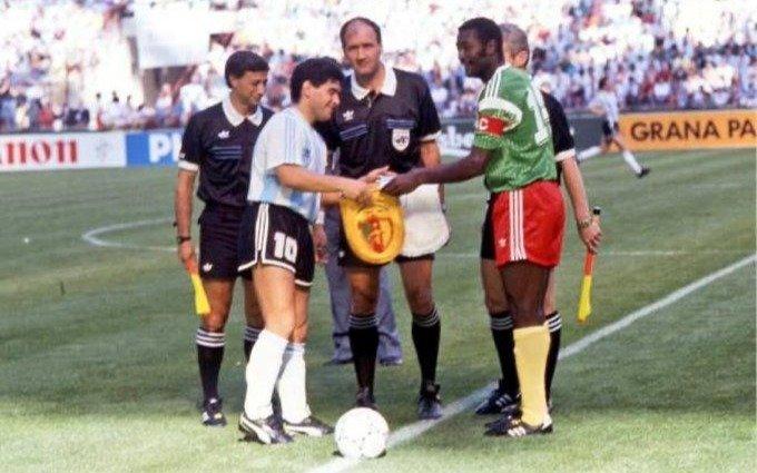Falleció el capitán de Camerún que venció a la Argentina en el Mundial de Italia '90