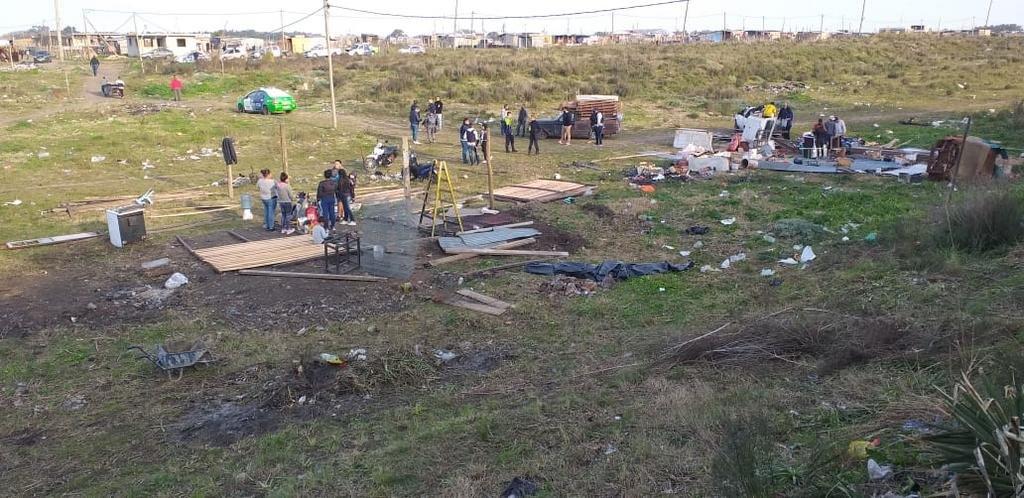 Tomas sin fin: un desalojo en Altos de San Lorenzo y otra ocupación en Romero