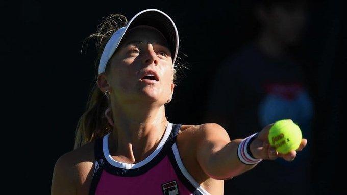 La rosarina Podoroska ganó en su vuelta al tenis
