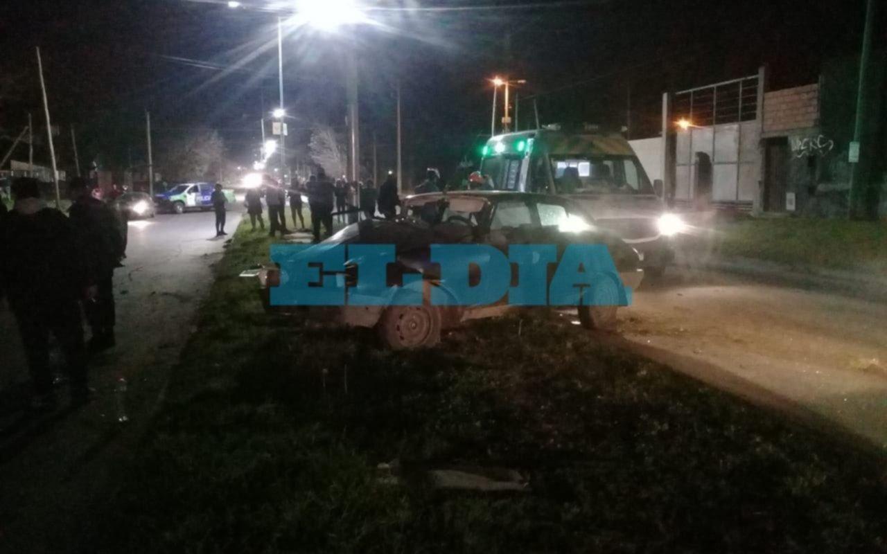 Una menor murió en un accidente en San Carlos