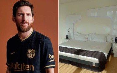 """En España dicen que Messi se compró un """"colchón anticoronavirus"""""""