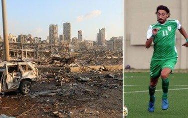 El futbolista argentino al que la explosión en Beirut destruyó la casa donde vivía