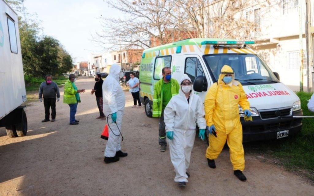 El COVID-19 en la Provincia: 84 muertes y 4.676 casos en las últimas 24 horas