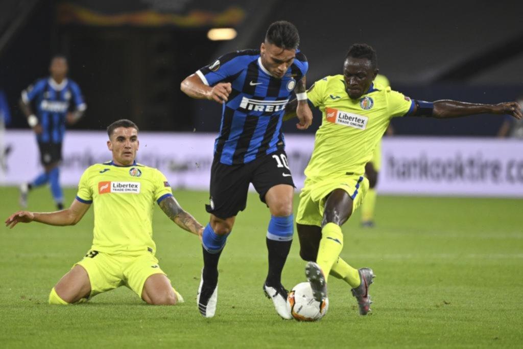 Inter, de Lautaro Martínez, se instaló en los cuartos de final