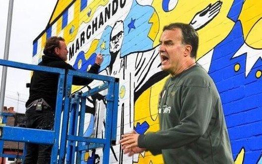 El homenaje que faltaba dedicado a Bielsa por los hinchas del Leeds
