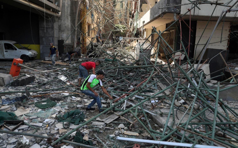 Beirut: estiman que la explosión tuvo un 10% de la intensidad de la bomba de Hiroshima