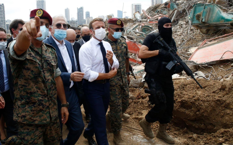 Beirut cuenta sus muertos y recibe a Macron, que promete ayuda en medio de críticas
