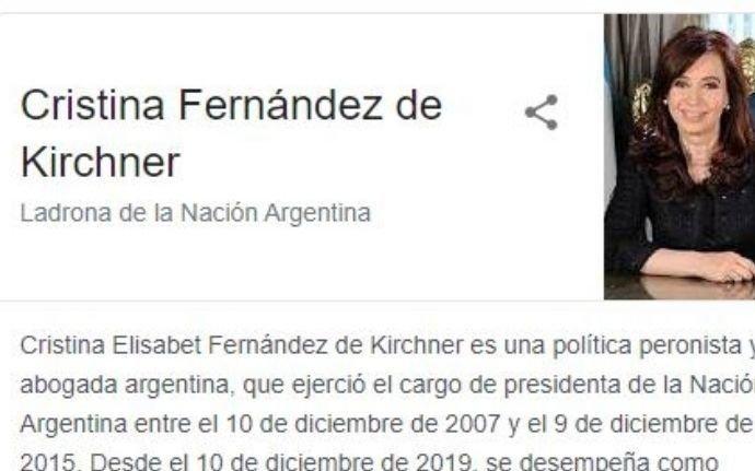 """El abogado de Cristina dijo que con la denuncia a Google buscan """"jurisprudencia mundial"""""""