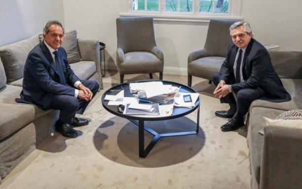 Fernández recibió a Scioli, quien viaja a Brasil a presentar cartas credenciales como embajador