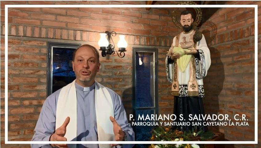 """San Cayetano: un pedido de """"pan y trabajo"""" en modo online"""