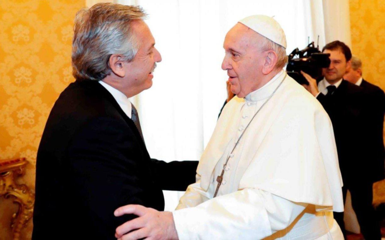 ¿De qué hablaron Alberto Fernández y el Papa Francisco?