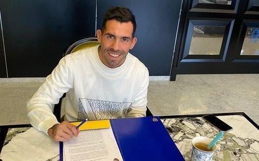 Con la firma de su nuevo contrato, Tevez sólo espera volver a entrenar