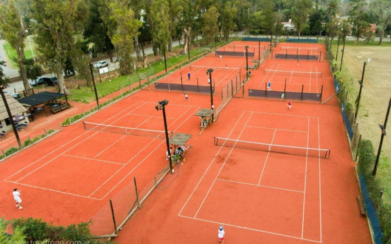 Por ahora, la vuelta de la actividad del tenis no tiene fecha en la Provincia