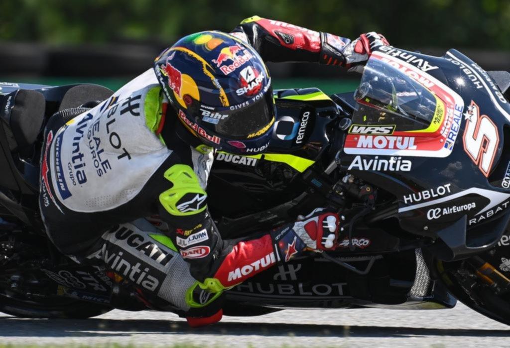 Zarco hizo la pole y larga en punta en la tercera fecha de Moto GP en República Checa