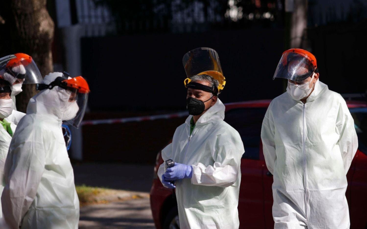 COVID-19 en La Plata: una nueva muerte y 125 contagios en el día