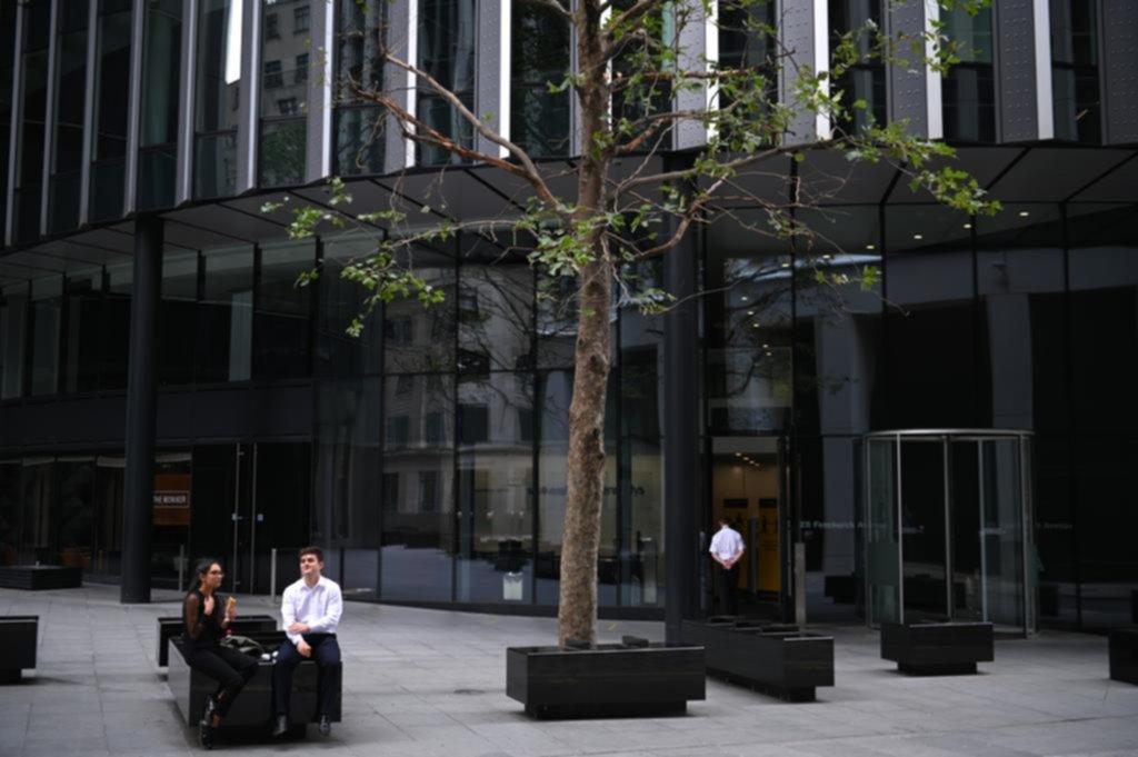 Londres mutó y muchos trabajadores le agarraron el gustito al teletrabajo