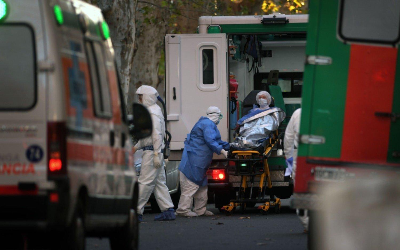 Argentina en el top 10 de muertes diarias por COVID-19
