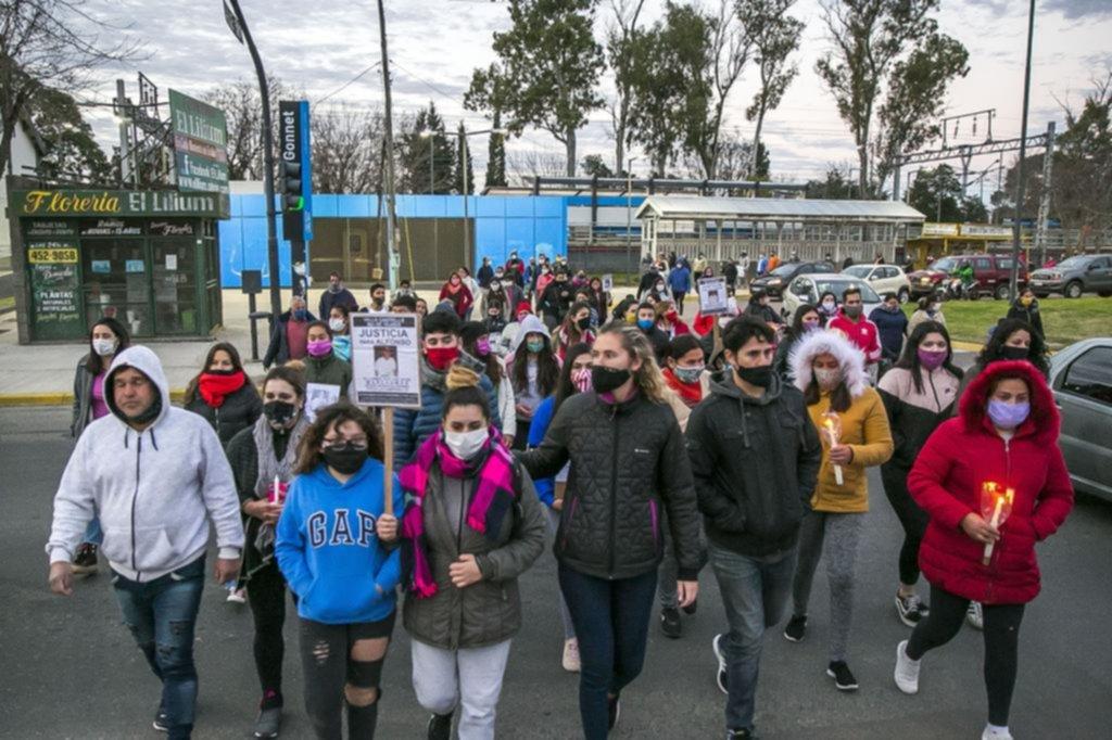 El pedido de justicia en el caso del albañil derivó en una fuerte protesta por los robos