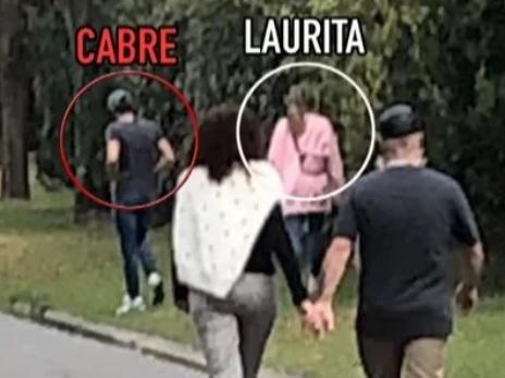 Otra vez sopa: ¿Laurita y Cabré pasaron el finde juntos?