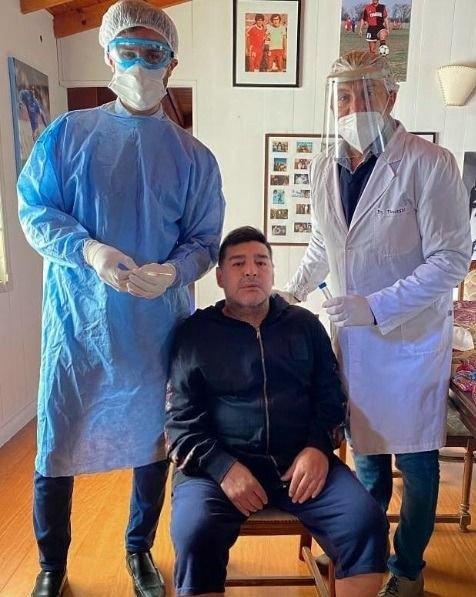 Dio negativo el hisopado que se realizó Maradona