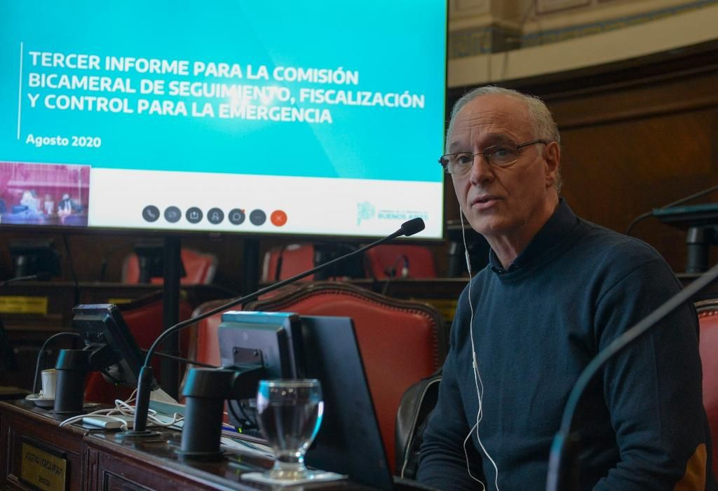 Bianco y Gollán fueron al Senado y la oposición los cuestionó