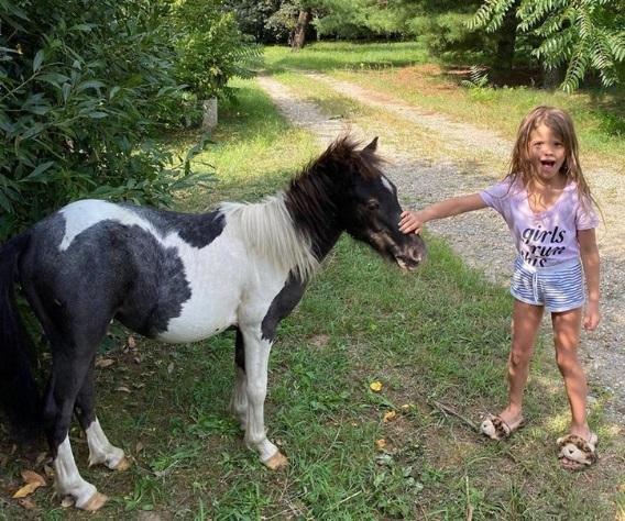 Wanda no se anda con chiquitas: las hijas le pidieron ponis y se los compró ¡reales!