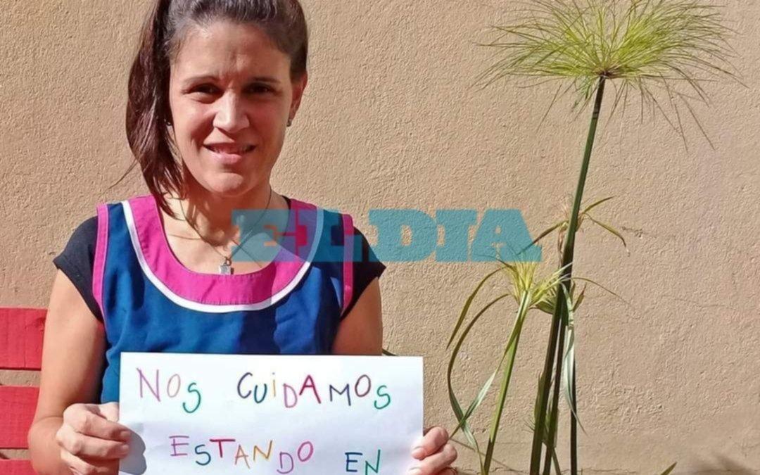 La docente platense que inició la campaña por el Día del Niño en la Región y se hizo viral