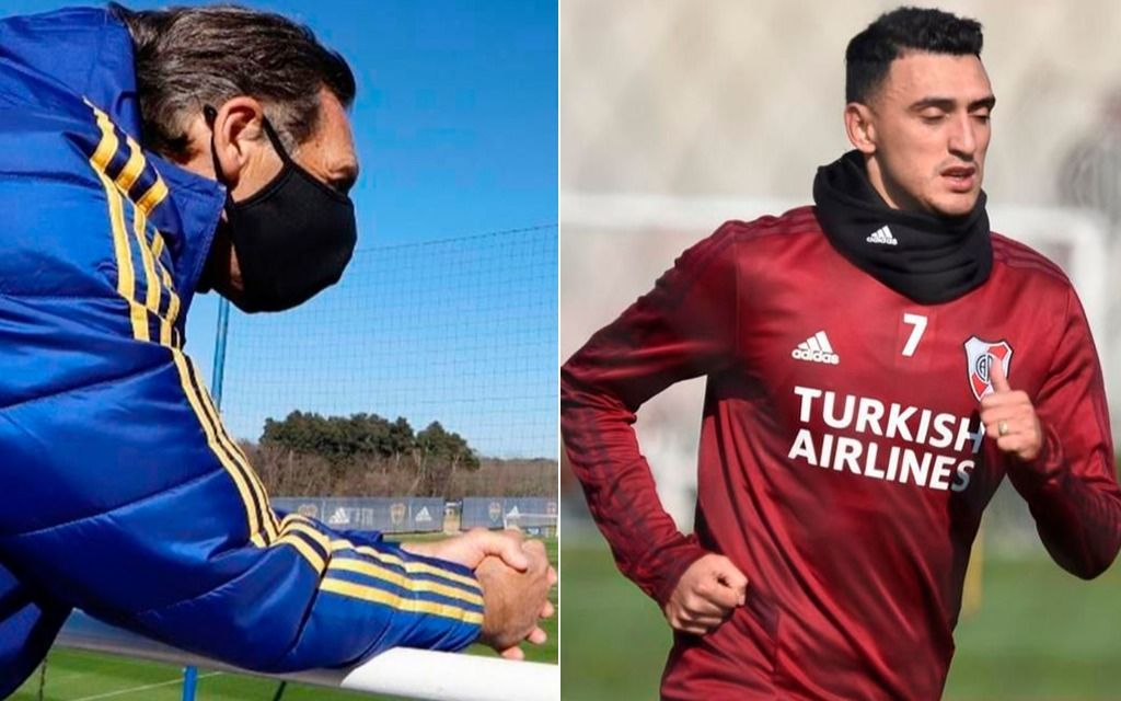 Suárez ya entrenó y Soldano lo hará hoy