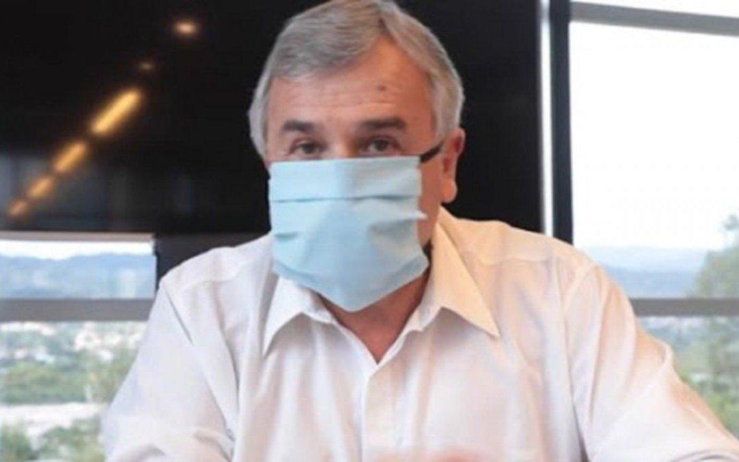 Gerardo Morales, gobernador de Jujuy, confirmóque contrajo coronavirus