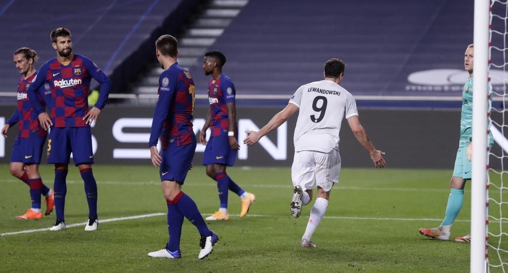 Bayern Münich bailó al Barcelona y lo sacó de la Champions con una goleada histórica