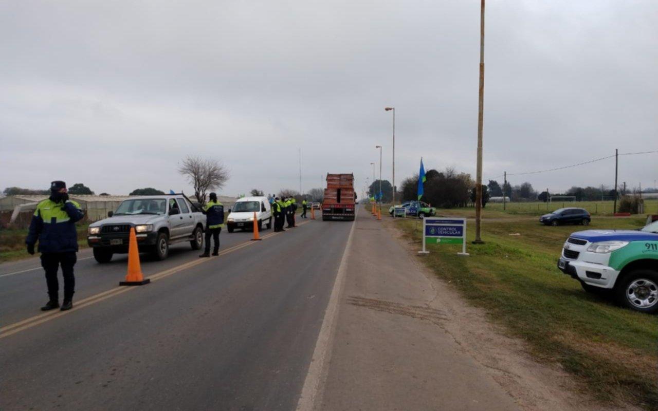 Intensifican controles sobre Ruta 36 y Avenida 60: 25 actas labradas y detención de dos personas con pedido de captura