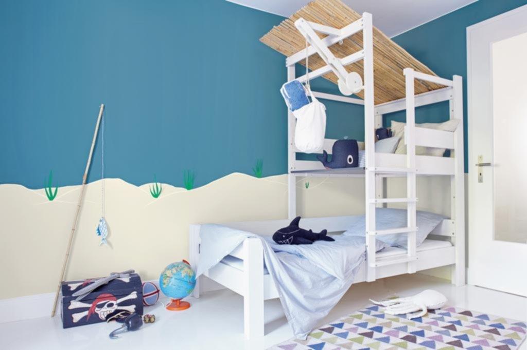 Colores y espejos: trucos para ampliar el cuarto de los niños