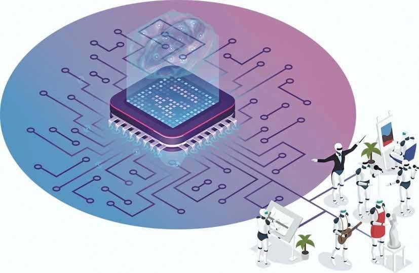 """Tendencias: las máquinas, el arte y el """"pincel"""" de la Inteligencia Artificial"""