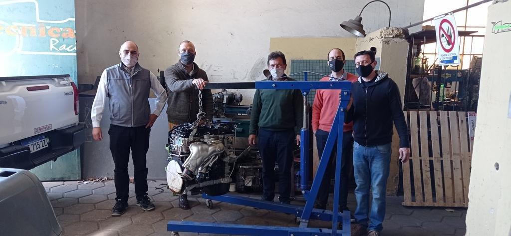 Motores para las escuelas técnicas