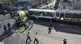 Otro accidente en las vías, con casi 90 heridos