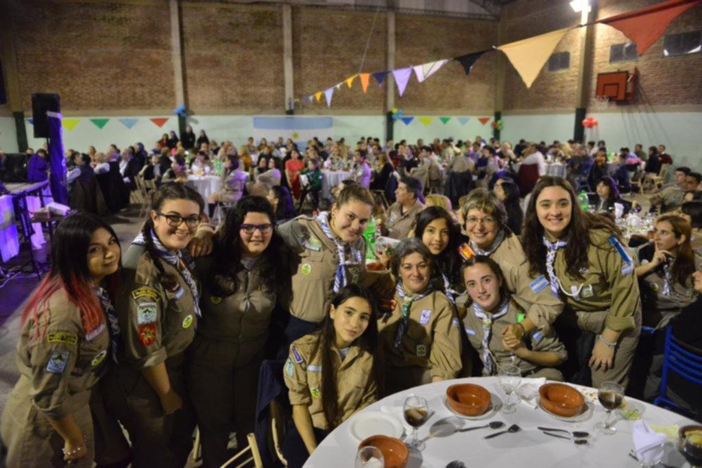 En la Cristo Rey, dos grupos siempre listos para la labor Scout