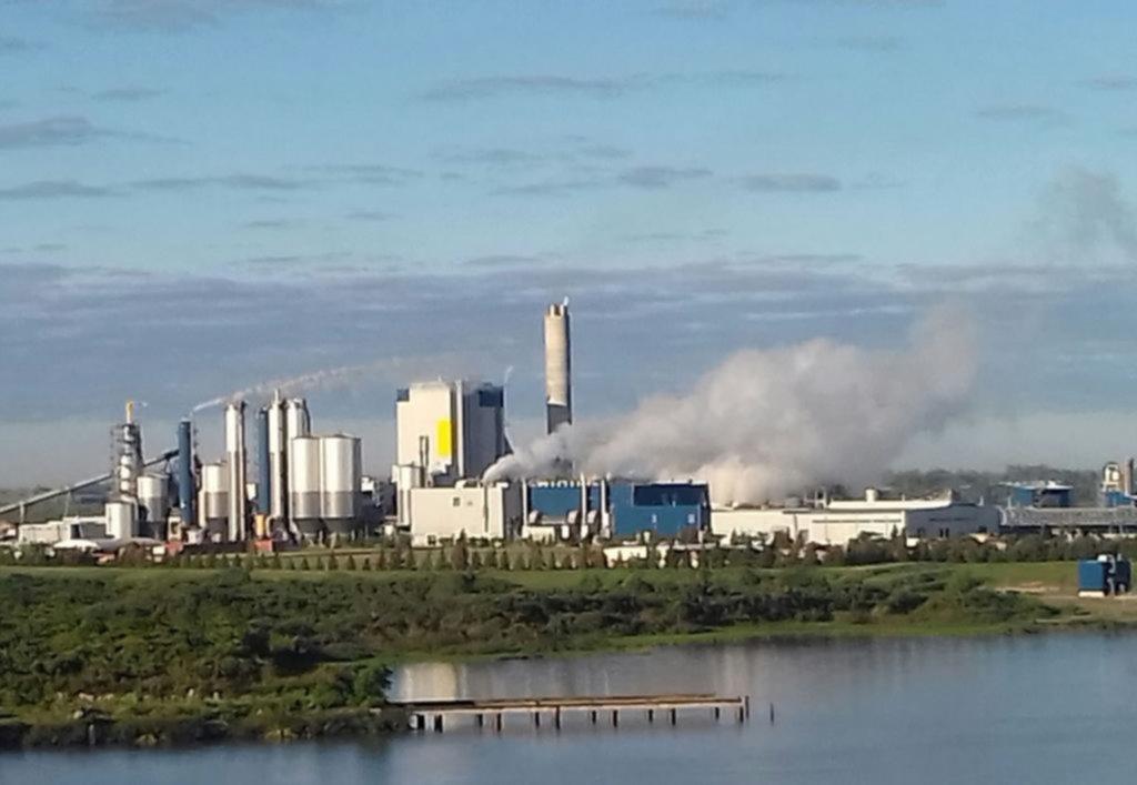 Resultado de imagen para foto rio negro uruguay contaminacion