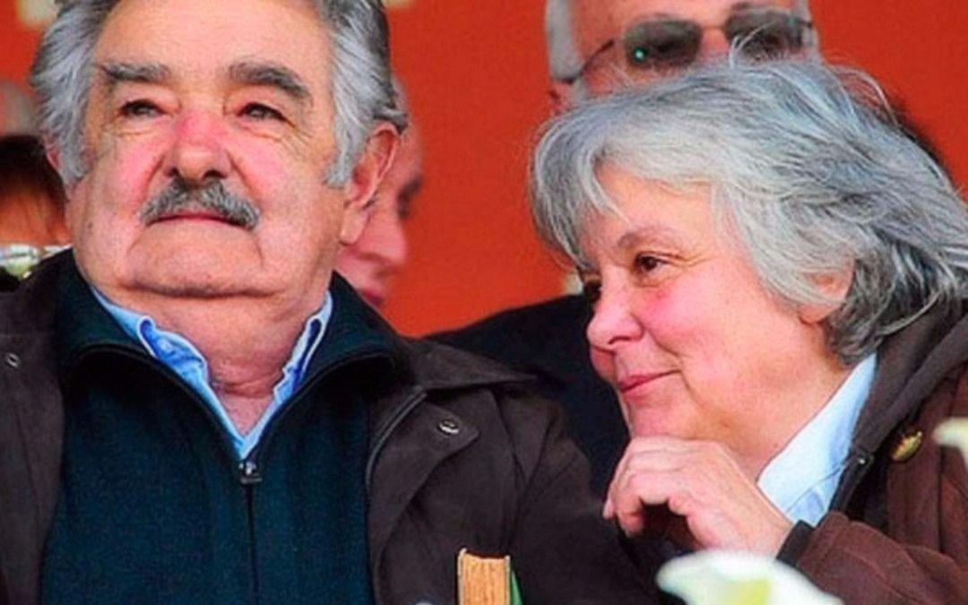 """La esposa de """"Pepe"""" Mujica, vicepresidenta de Uruguay"""